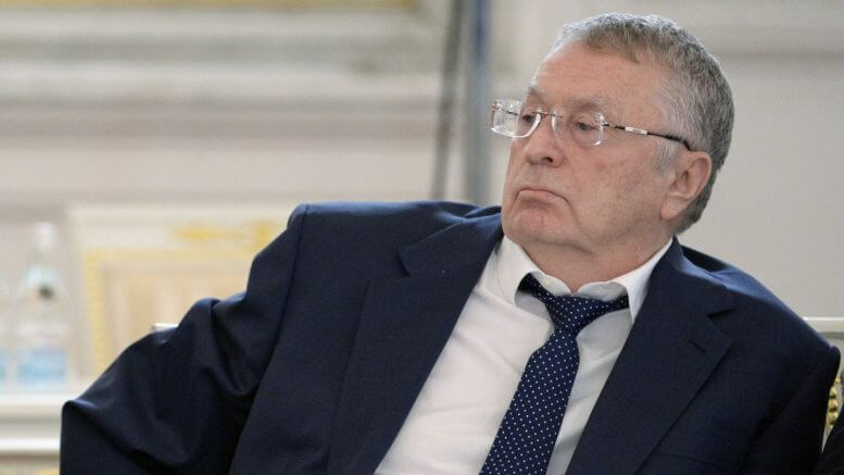 The Kremlin and Mr. Zhirinovsky waging war on Mrs. Clinton