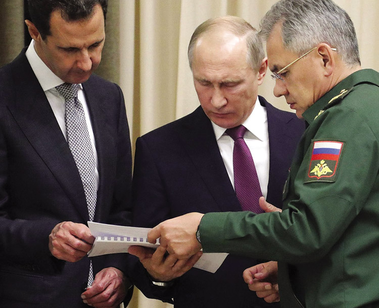 What Putin Wants in Syria
