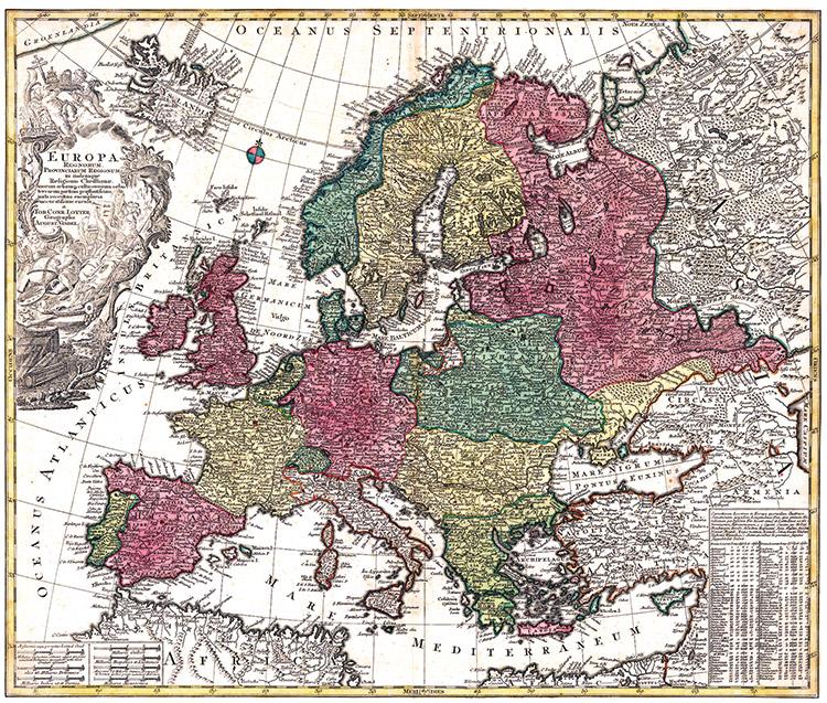 """Ευρώπη στην μέγγενη της """"σκοτεινής ύλης"""" και των ανακατατάξεων στην διεθνή ισορροπία δυνάμεων"""