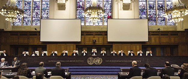 Οποίος επιθυμεί την εφαρμογή του διεθνούς δικαίου δεν αποφεύγει τα όργανα της δικαιοσύνης